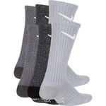 Nike Boys' Performance Cushioned Crew Marled Training Socks 6 Pack - view number 1