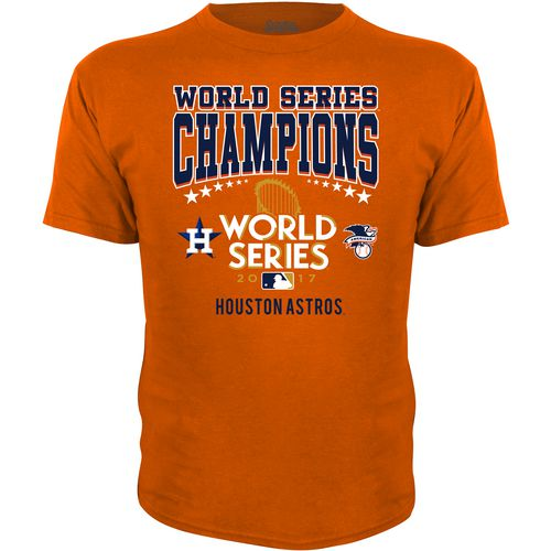 Stitches Kids' Astros World Series Champions Short Sleeve T-Shirt