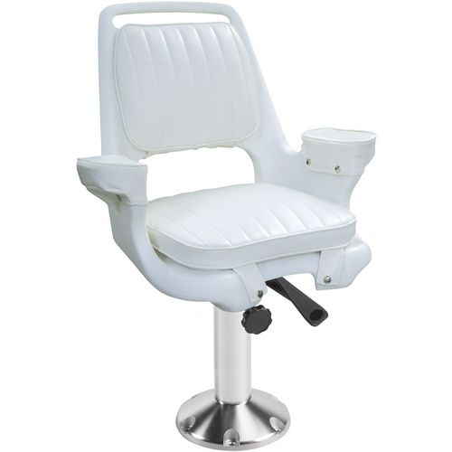 Wise Captains Chair and Pedestal Set