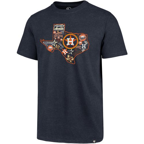 '47 Boys' Houston Astros State of Texas Multi Logo Super Rival T-Shirt