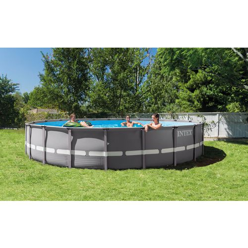 INTEX 20 ft x 48 in Round Ultra Frame Pool Set - view number 1