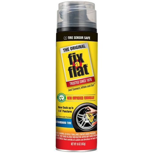 Fix-A-Flat Emergency Tire Repair Inflator and Sealer - view number 1