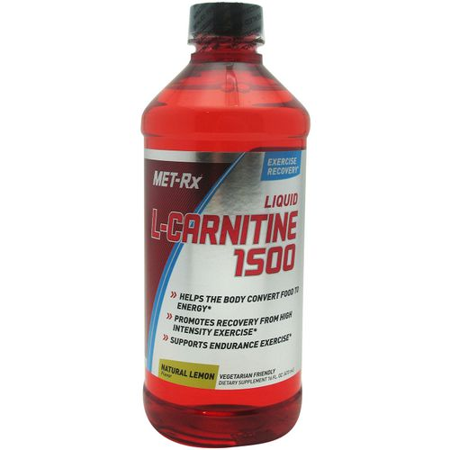 MET-Rx Liquid L-Carnitine 1500 Supplement - view number 1