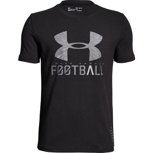 Under Armour Boys' Football Lockup T-shirt - view number 2