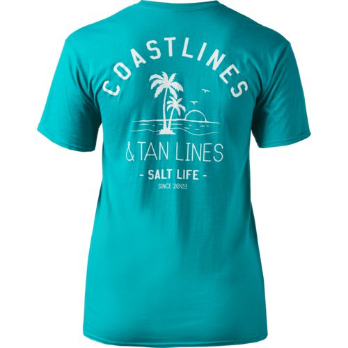 Salt Life Women's Coastlines and Tan Lines T-shirt - view number 2