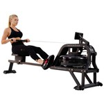 Sunny Health & Fitness Obsidian Surge Water Rowing Machine - view number 1