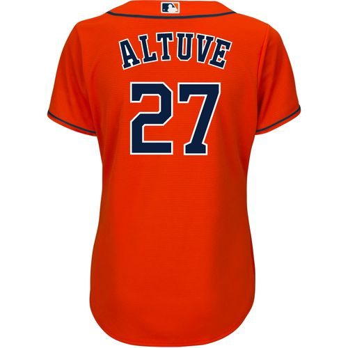 Majestic Women's Houston Astros Jose Altuve 27 COOL BASE Jersey