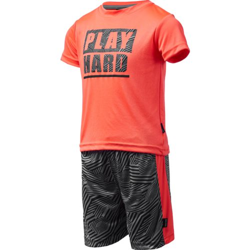 Spalding Toddler Boys' Play Hard T-shirt and Shorts Set