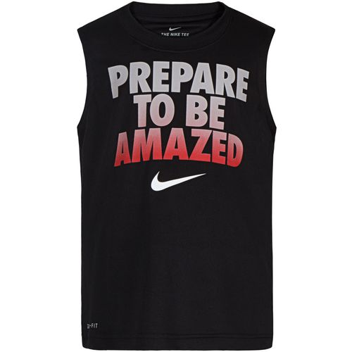 Nike Boys' Prepared To Be Amazed Muscle Tank Top - view number 1