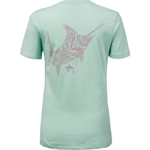 Guy Harvey Women's Holy Henna T-shirt