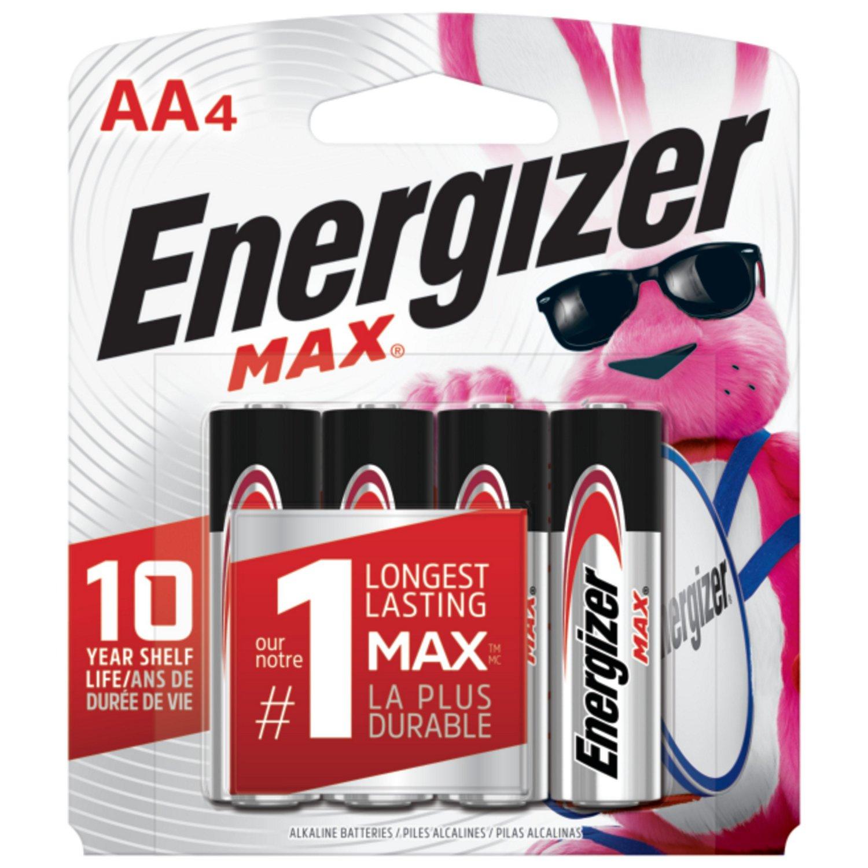 Alkaline + Lithium Batteries