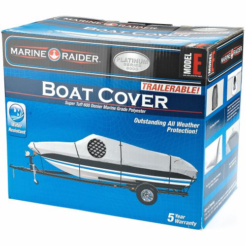 Marine Raider Platinum Series Model E Boat Cover For 20' - 23' V-Hull Runabouts And V-Hull Pro-Style - view number 2