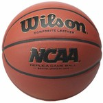 Wilson Men's NCAA Replica Game Basketball - view number 1