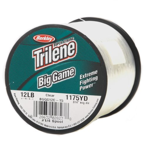 Display product reviews for Berkley® Trilene® Big Game™ 1/4 lb. Fishing Line