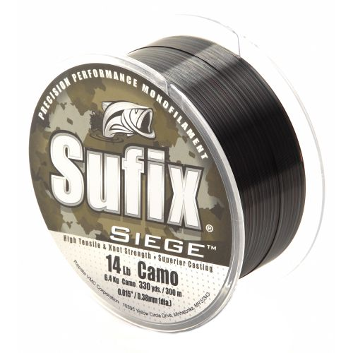 Image for Sufix Siege 14 lb. - 330 yards Monofilament Fishing Line from Academy