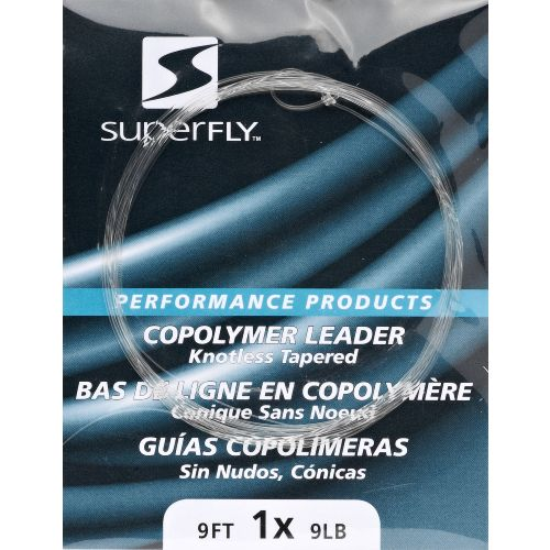 Superfly 1X 9 ft Knotless Tapered Leader
