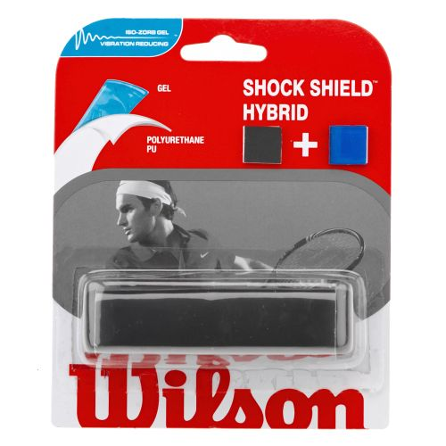 Image for Wilson Shock Shield Hybrid Overgrip Tennis Racquet Grip from Academy