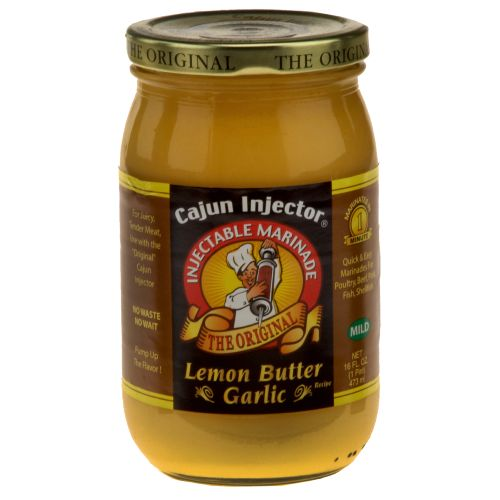 Display product reviews for Cajun Injector 16 oz. Lemon Butter Garlic Marinade Refill
