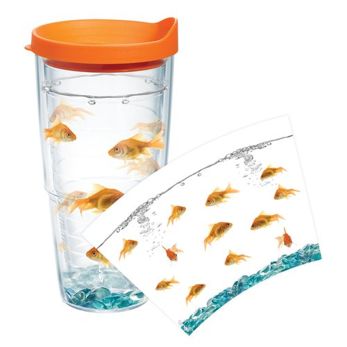 Tervis Goldfish 24 oz. Tumbler with Lid