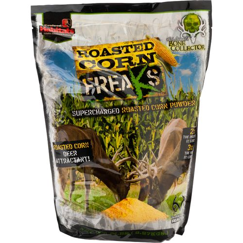 Display product reviews for Evolved Habitats Roasted Corn Freaks™ 5 lb. Deer Feed Attractant