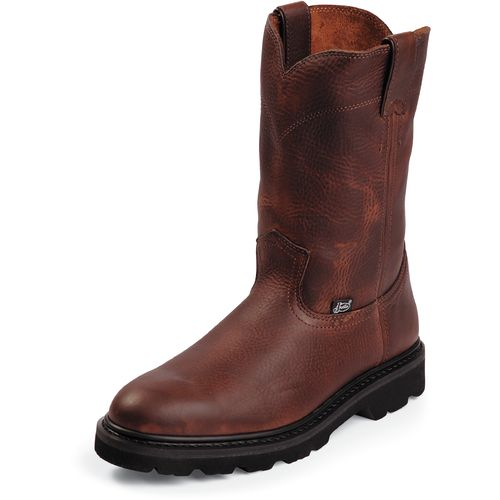 Display product reviews for Justin Men's Light-Duty Work Boots