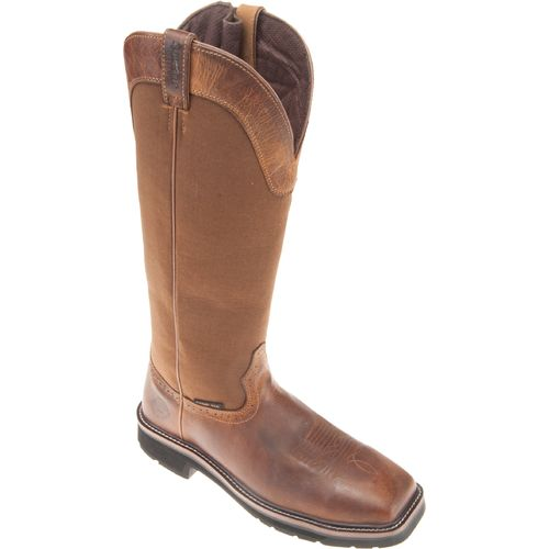 Justin Men's Stampede Wellington Steel Toe Snake Boots - view number 2