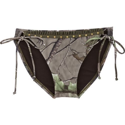 Realtree Juniors' APG Adjustable Side Tie Swim Pant