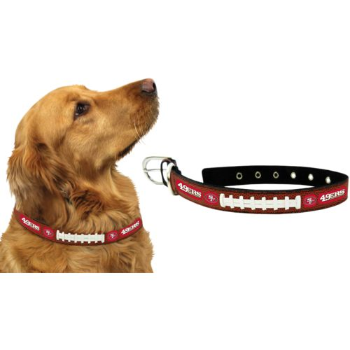 GameWear San Francisco 49ers Classic Leather Football Collar