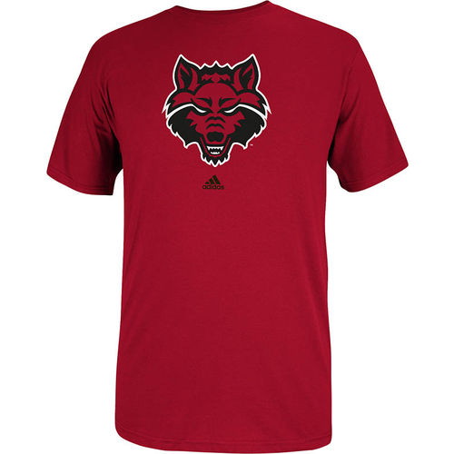 adidas Men's Arkansas State University School Logo T-shirt