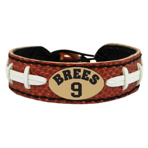 GameWear New Orleans Saints Drew Brees #9 NFL Jersey Bracelet