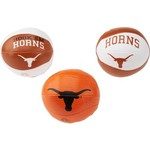 Rawlings® University of Texas 3 Point Shot Softee Basketballs 3-Pack