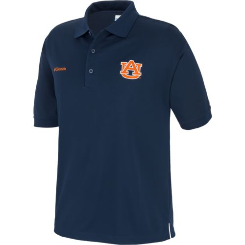 Columbia Sportswear Men's Collegiate Perfect Cast™ Auburn University Polo