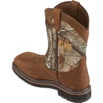 Brazos Men's Bandero Camo Square Steel-Toe Wellington Work Boots - view number 3
