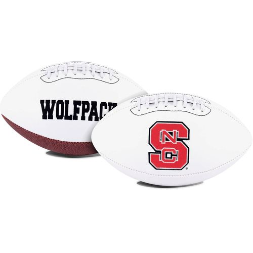Jarden Sports Licensing North Carolina State University Signature Series Full Size Football with Aut