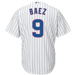 Majestic Men's Chicago Cubs Javier Baez #9 Cool Base® Replica Jersey