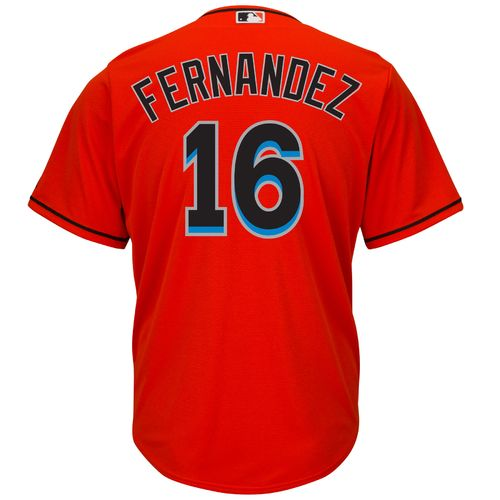 Majestic Men's Miami Marlins José Fernandez #16 Cool Base® Alternate Jersey