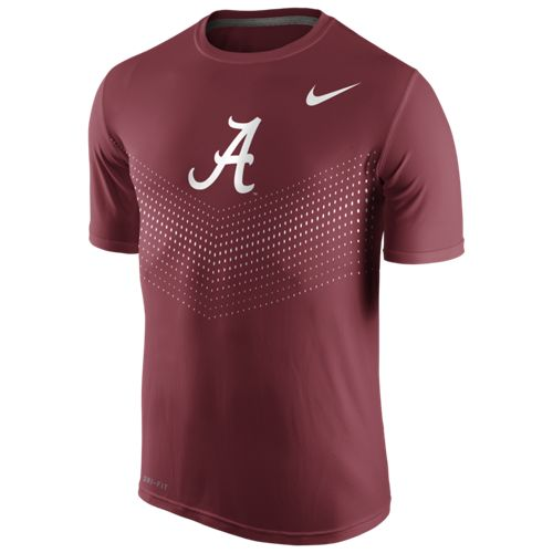 Nike Men's University of Alabama Legend Short Sleeve