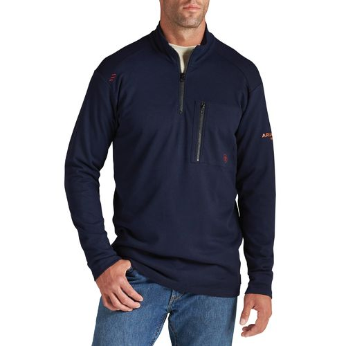Ariat Men's Flame-Resistant 1/4 Zip Work Shirt