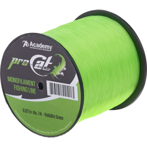 Display product reviews for Academy Sports + Outdoors Pro Cat Monofilament Fishing Line