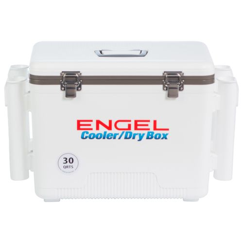 Engel 30 qt Cooler/Dry Box with Rod Holders - view number 2