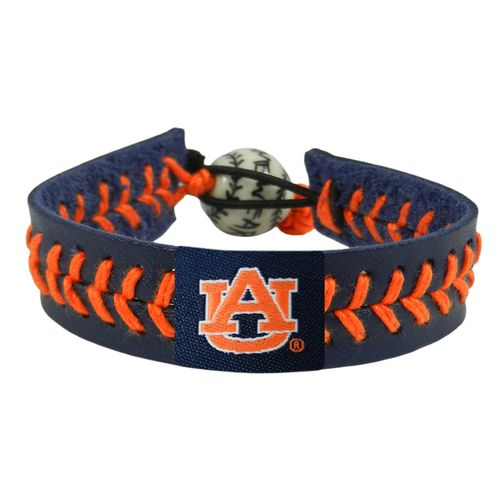 GameWear Adults' Auburn University Team Color Baseball Bracelet