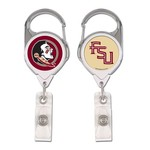 WinCraft Florida State University 2-Sided Retractable Premium Badge Holder