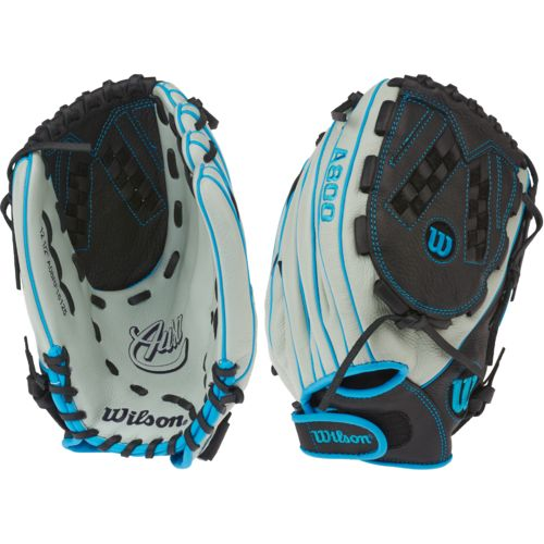 "Wilson Girls' Aura BBG 12.5"" Fast-Pitch Pitcher/Infield/Outfield Softball Glove"