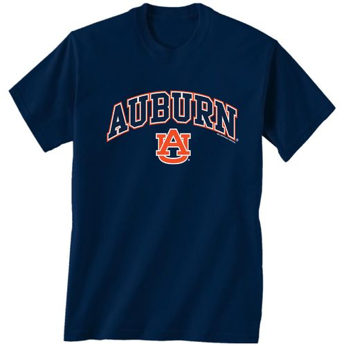 New World Graphics Men's Auburn University Arch Mascot T-shirt