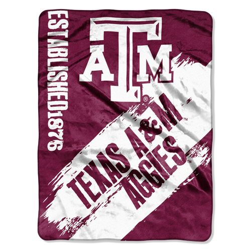 The Northwest Company Texas A&M University Painted Fleece Throw