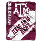 The Northwest Company Texas A&M University Painted Fleece Throw - view number 1