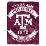 The Northwest Company Texas A&M University Rebel Raschel Throw - view number 1