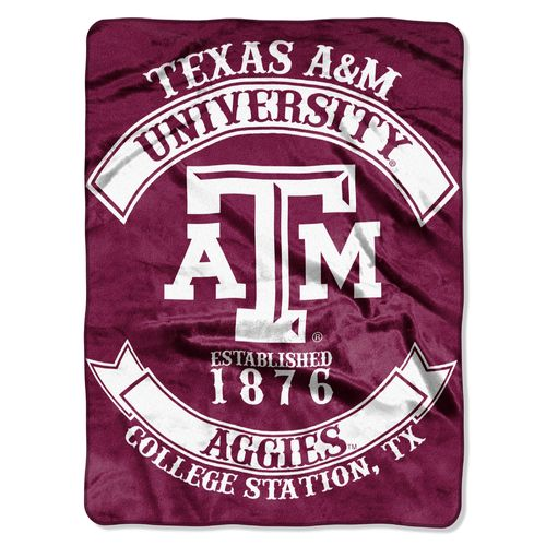 The Northwest Company Texas A&M University Rebel Raschel Throw