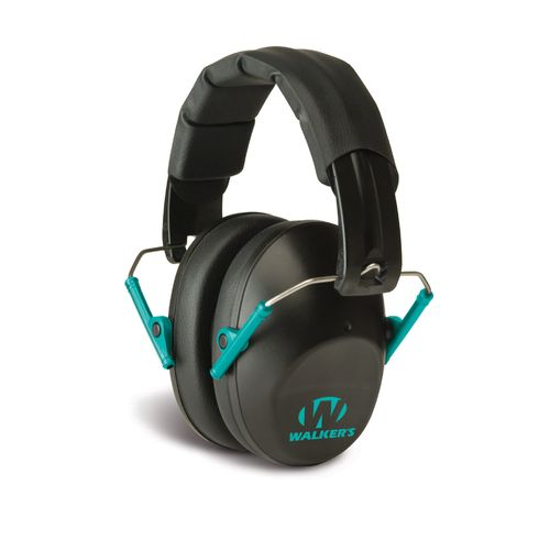 Walker's Adults' Game Ear Pro Low-Profile Passive Earmuffs
