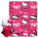 The Northwest Company Philadelphia Eagles Hello Kitty Hugger and Fleece Throw Set